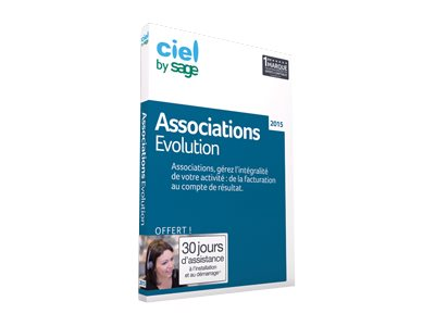 Ciel La Solution Associations Evolution 2015 - ensemble de boîtes
