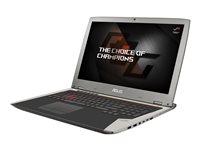 "ASUS ROG G701VI XS72K - Core i7 7820HK / 2.9 GHz - Win 10 Pro 64-bit - 32 GB RAM - 256 GB SSD NVMe, HyperDrive RAID 0 (2x) - 17.3"" 1920 x 1080 (Full HD) - GF GTX 1080 - 802.11ac, Bluetooth - gray silver metal"