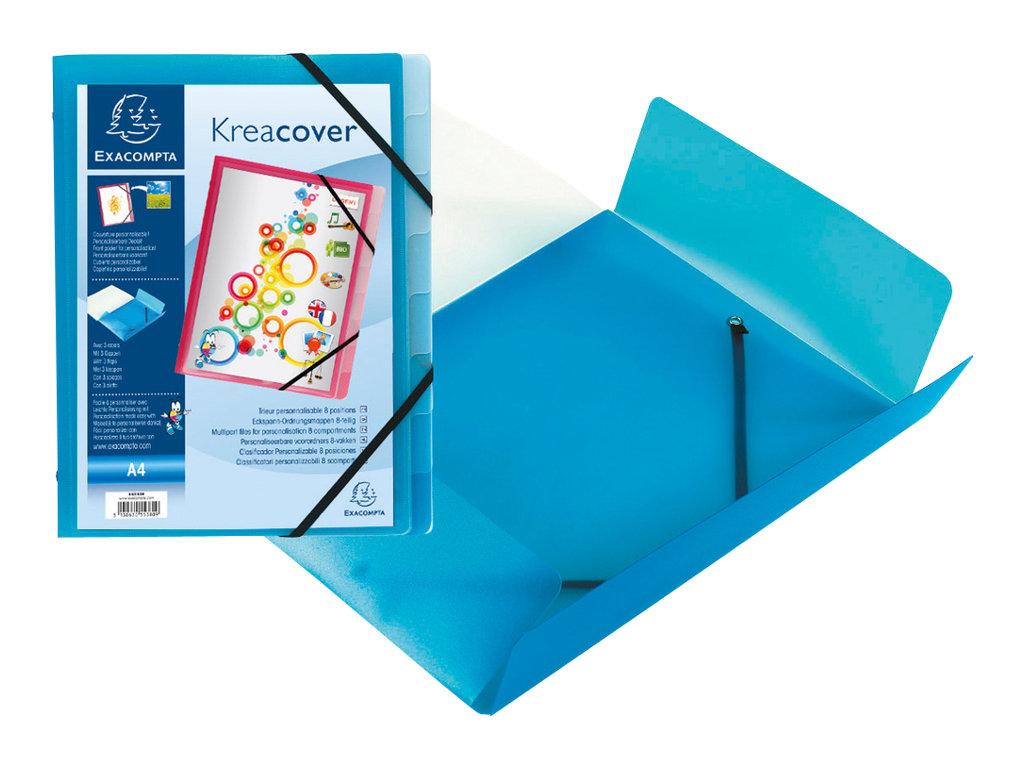 Exacompta KreaCover - trieur - coloris selon disponibilité