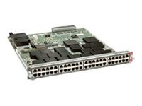 Catalyst 6500 48-port 10/100/1000 w/Jumbo Frame, RJ-45