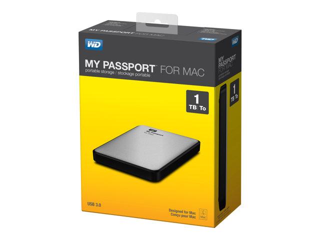 WD My Passport for Mac WDBLUZ0010BSL