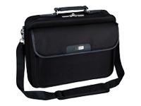 """Targus Notepac 15.4 16"""" / 39.1 40.6cm Bæretaske til notebook 16"""" sort"""