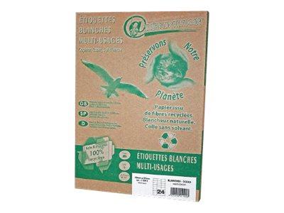 QRT Graphique Définition ETIQUETTES Ecologique - étiquettes adhésives - 1000 étiquette(s)