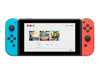 Nintendo Switch with Neon Blue and Neon Red Joy-Con - Game console - Full HD - 32 GB flash - black, neon red, neon blue