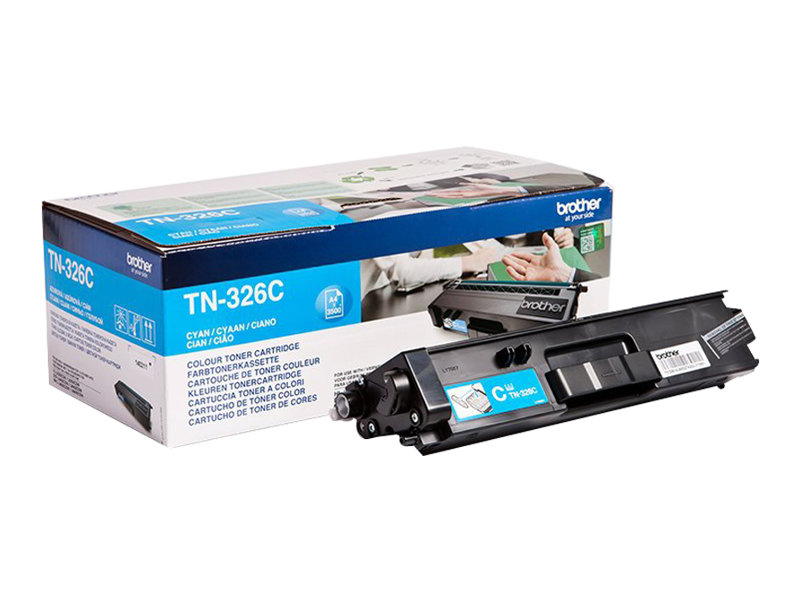Brother TN326C - cyan - originale - cartouche de toner