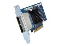 QNAP SAS-6G2E-D - contrôleur de stockage (RAID) - SAS