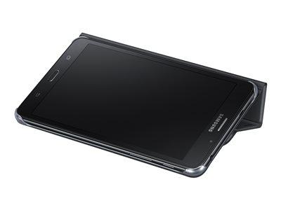 Samsung Book Cover EF-BT285 - Pouzdro s klopou pro tablet - černá - pro Galaxy Tab A (7 palec), Tab A (2016) (7 palec)