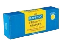 Rapesco - 5000 Agrafes - No. 13 - 8 mm - pack de 5000