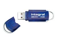 Integral Europe Cl�s USB INFD4GBCOUAT