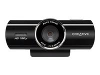 Creative Live! Cam Connect HD Webkamera farve 1280 x 720 audio USB 2.0