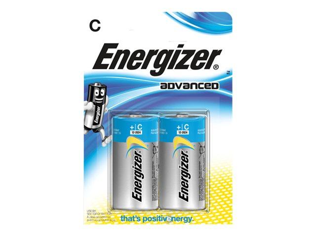Energizer Advanced batterie - C - Alcaline x 2