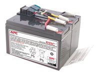 APC Replacement Battery Cartridge #48 UPS-batteri 1 x Blysyre