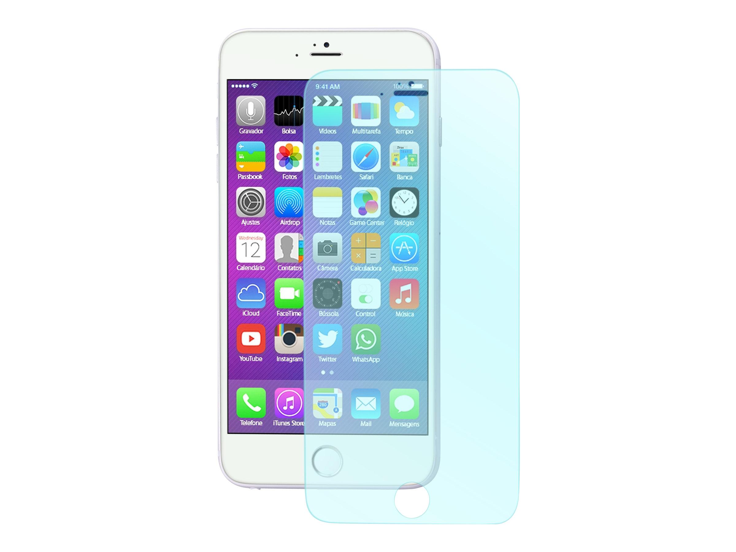 Muvit - 1 film de protection d'écran - verre trempé - pour iPhone 6 Plus