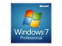 Microsoft Windows 7 Professional w/SP1 Licens 1 PC OEM DVD 64-bit, LCP