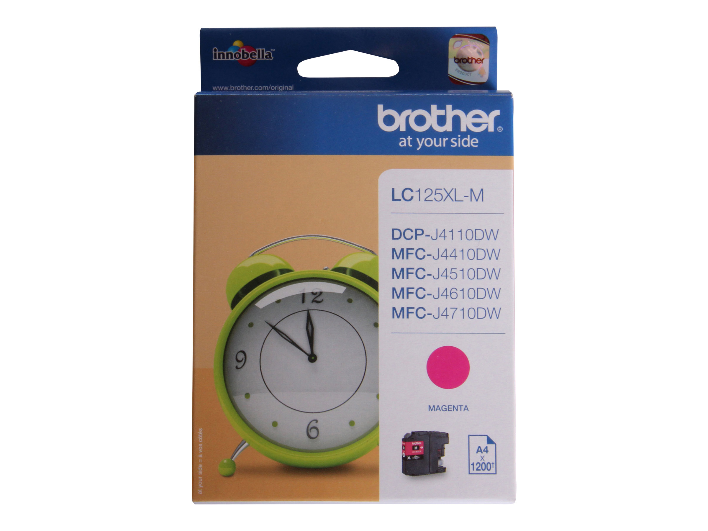 Brother LC125XLM - Super High Yield - magenta - originale - cartouche d'encre