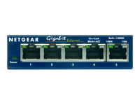 NETGEAR ProSAFE GS105 Switch 5 x 10/100/1000 desktop