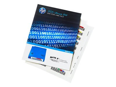 HP LTO-5 Ultrium RW Bar Code Label Pack