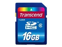 Transcend Cartes Flash TS16GSDHC6