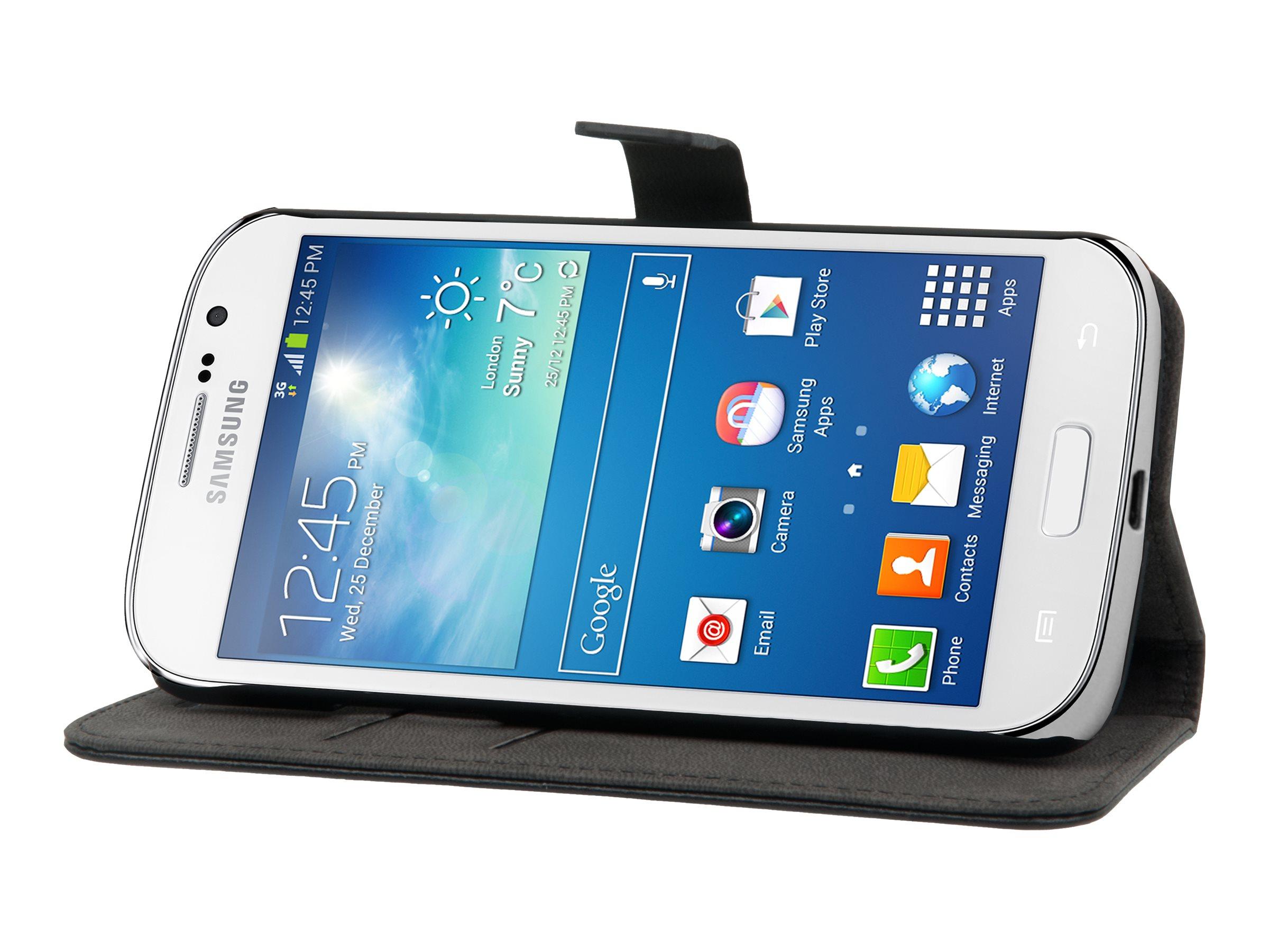 Muvit Slim Folio - Protection à rabat pour Samsung GALAXY Grand Lite, Grand Neo - noir