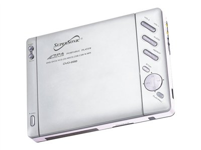 Supersonic SC-28B - DVD player - portable