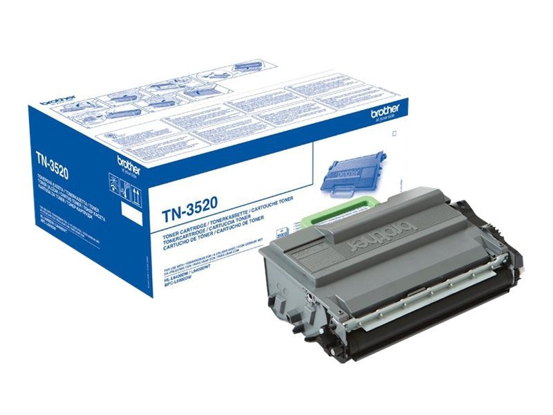 Brother TN3520 - noir - originale - cartouche de toner