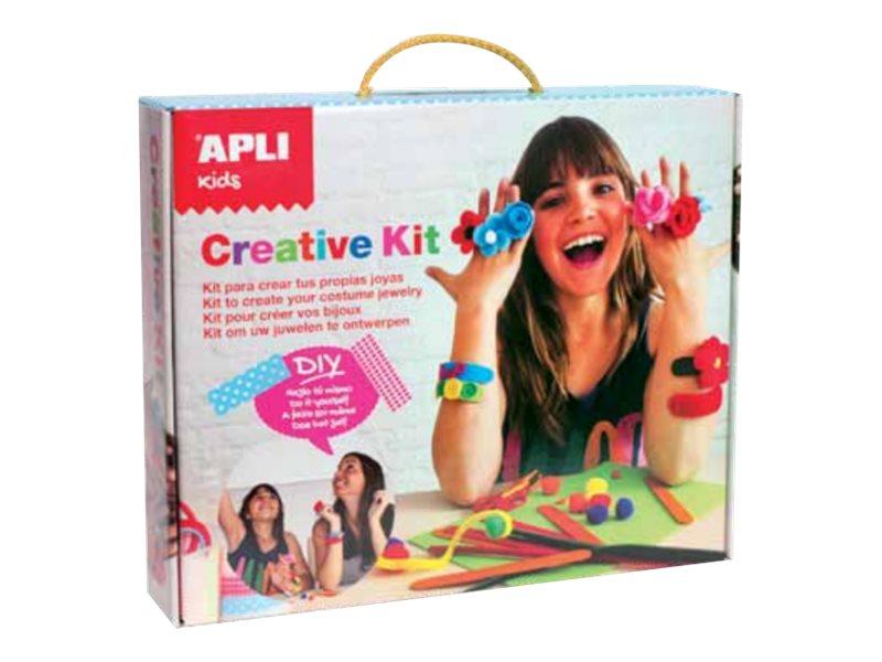 APLI kids Creative Kit - kit d'artisanat de bijoux