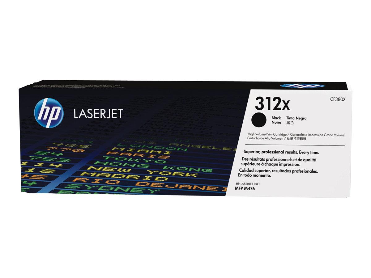 HP 312X - à rendement élevé - noir - original - LaserJet - cartouche de toner ( CF380X )