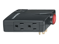Fellowes Wall Mount Travel Surge Protector