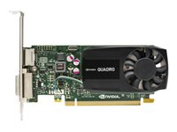 NVIDIA Quadro K620 - Graphics card - Quadro K620 - 2 GB DDR3 - PCIe 2.0 x16 low profile - DVI, DisplayPort - promo - for Workstation Z440, Z640, Z840