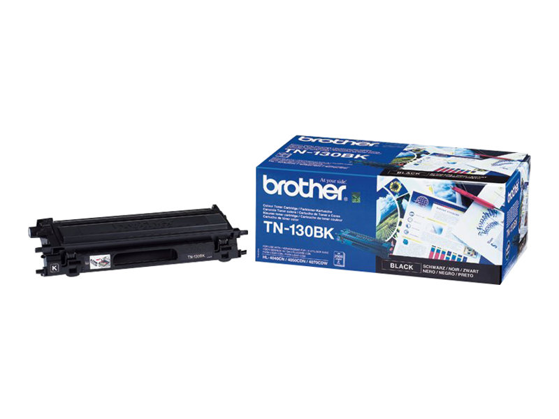 Brother TN130BK - noir - originale - cartouche de toner