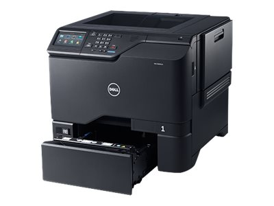 Dell Color Smart Printer S5840cdn - Printer - color - Duplex - laser - A4/Legal - 1200 x 1200 dpi - up to 50 ppm (mono) / up to 50 ppm (color) - capacity: 650 sheets - USB 2.0, Gigabit LAN, USB 2.0 host with 1 year Pro Support