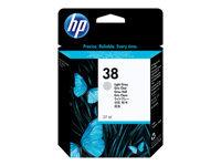 HP 38 27 ml lysegrå original blækpatron