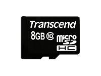 Transcend Cartes Flash TS8GUSDHC10-P3