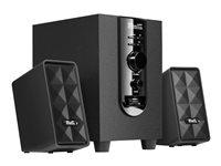 Klip Xtreme KES-345 AcoustiXFusion III - Speaker system - 2.1-channel