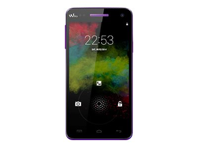 Wiko Rainbow 4G - violet - 4G HSPA+ - 8 Go - GSM - smartphone Android