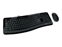 Microsoft Comfort Curve Desktop 3000 for Business Tastatur og mus-sæt