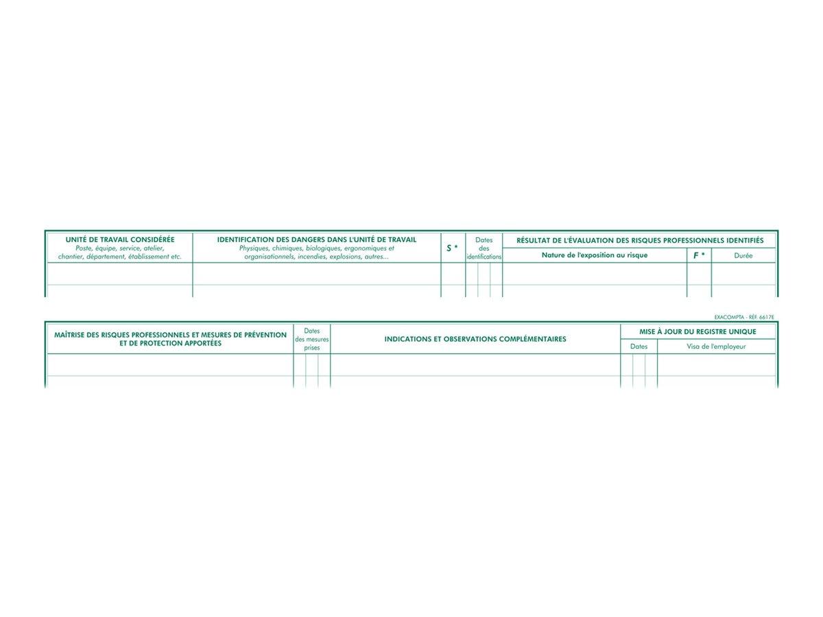 Exacompta - registre