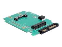 """DeLOCK Converter SATA 22 pin > mSATA Lagringskontrol 1.8"""" SATA 3Gb/s"""