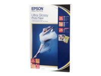 Epson Ultra Glossy Photo Paper - Brillant - 100 x 150 mm 20 feuille(s) papier photo - pour Expression Home XP-235, 245, 342, 442; Expression Premium XP-540, 900; SureColor P800