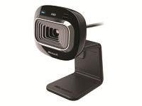 Microsoft LifeCam HD-3000 Webkamera farve 1280 x 720 audio USB 2.0