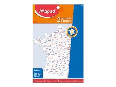 Maped carte - 2 cartes de France
