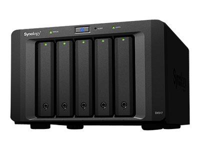Synology DX517 - Police - 5 zásuvky