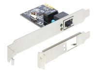 DeLock PCI Express Card > 1 x Gigabit LAN Netværksadapter PCIe