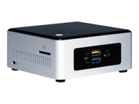 Intel Next Unit of Computing Kit NUC5PPYH - Pentium N3700 1.6 GHz - 0 Mo - 0 Go
