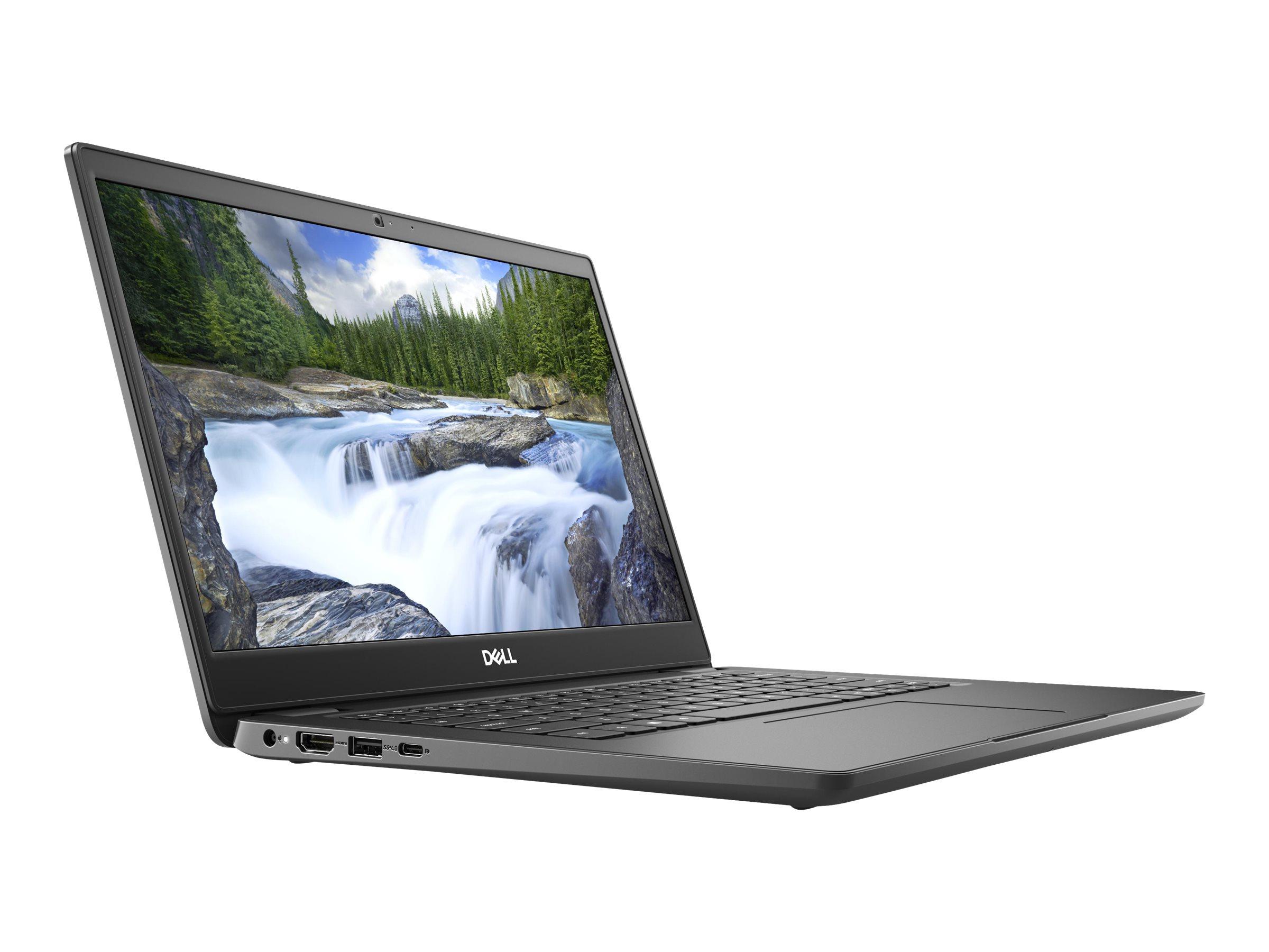 """Image de Dell Latitude 3410 - Core i5 10210U / 1.6 GHz - Win 10 Pro 64 bits - 8 Go RAM - 256 Go SSD - 14"""" 1920 x 1080 (Full HD) @ 60 Hz - UHD Graphics - Wi-Fi, Bluetooth - BTS - avec 1 an basique sur site"""