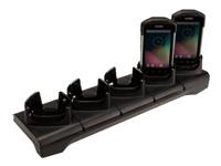 Motorola Five-Slot ShareCradle - Handheld charging stand - output connectors: 5 - for Symbol TC70; Zebra TC70X, TC75, TC75X