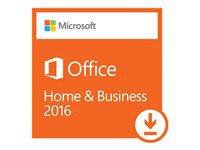 Microsoft Office Home and Business 2016 Licens 1 PC ESD Win