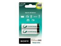Sony Premium NH-AA-B2GN - Batería 2 x tipo AA - NiMH