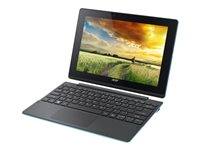 "Acer Aspire Switch 10 E SW3-016-17WG - Tablet - with keyboard dock - Atom x5 Z8300 / 1.44 GHz - Win 10 Home 64-bit - 2 GB RAM - 64 GB eMMC - 10.1"" IPS touchscreen 1280 x 800 - HD Graphics - black, blue"