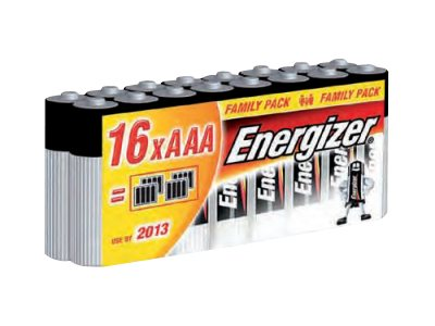 Energizer Family Pack - batterie - type AAA - Alcaline x 16